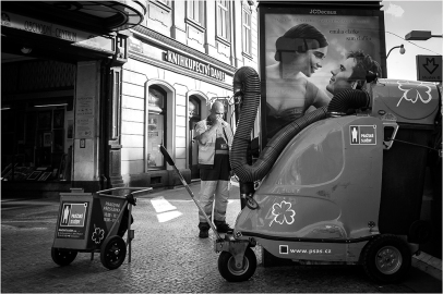 Prague street photo - Národní třída